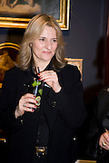MAXINE FOX, Preview party for the Versace Sale.  The contents of fashion designer Gianni Versace's villa on Lake Como. Sothebys. Old Bond St. London. 16 March 2009.  *** Local Caption *** -DO NOT ARCHIVE -Copyright Photograph by Dafydd Jones. 248 Clapham Rd. London SW9 0PZ. Tel 0207 820 0771. www.dafjones.com<br /> MAXINE FOX, Preview party for the Versace Sale.  The contents of fashion designer Gianni Versace's villa on Lake Como. Sothebys. Old Bond St. London. 16 March 2009.