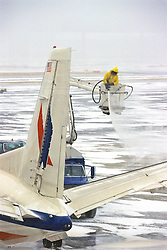 Deicing Airplanes Before Takeoff