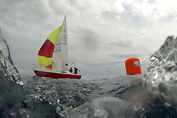 The Silvers Marine Scottish Series 2014, organised by the  Clyde Cruising Club,  celebrates it's 40th anniversary.<br /> 8098N, Serenity, D Guthire/J Park, FYC<br /> Final day racing on Loch Fyne from 23rd-26th May 2014<br /> <br /> Credit : Marc Turner / PFM