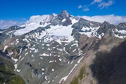 THEMENBILD - Grossglockner (Glockner), höchster Berg Österreichs (3798m), Sommer, am Sonntag 04. August 2019, Kals am Großglockner, Nationalpark Hohe Tauern, Österreich // Grossglockner (Glockner), highest mountain of Austria with 3.798 meter sea level, summer, on Sunday 04. August 2019, Kals am Grosglockner, Hohe Tauern National Park. EXPA Pictures © 2019, PhotoCredit: EXPA/ Johann Groder