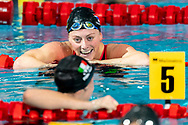 TOUSSAINT Kira Netherlands NED Bronze Medal<br /> 200 backstroke women Final<br /> Glasgow 06/12/2019<br /> XX LEN European Short Course Swimming Championships 2019<br /> Tollcross International Swimming Centre<br /> Photo  Giorgio Scala / Deepbluemedia / Insidefoto