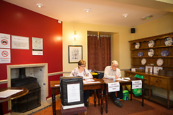 June 8, 2017 - Peterborough, Cambs, United Kingdom - Image ©Licensed to i-Images Picture Agency. 08/06/2017. Peterborough, United Kingdom. Polling Stations open across the UK. The Boltoph Arms Polling station, Local Public House. Picture by Terry Harris / i-Images (Credit Image: © Terry Harris/i-Images via ZUMA Press)