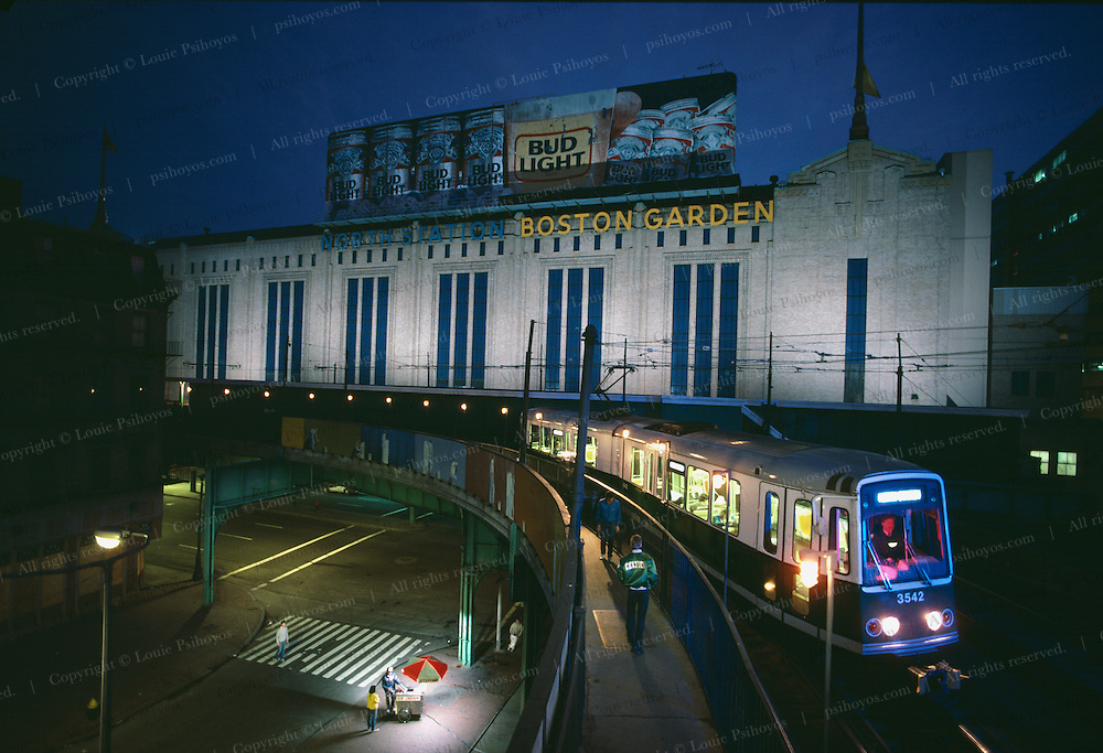 Boston Garden/North Station was torn down to make way for a new stadium.