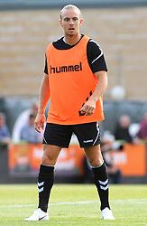 Joseph Mills of Forest Green Rovers warms up- Mandatory by-line: Nizaam Jones/JMP- 17/07/2018 - FOOTBALL - New Lawn Stadium - Nailsworth, England - Forest Green Rovers v Leeds United - Pre-season friendly