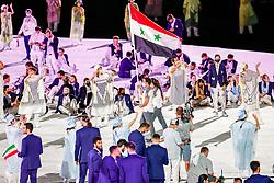 Opening Ceremony, Syrië<br /> Olympic Games Tokyo 2021<br /> © Hippo Foto - Dirk Caremans<br /> 23/07/2021