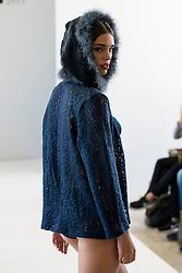 15.10.2015, Circulo de Bellas Artes, Madrid, ESP, Senmark Jubiläums Fashion Show, im Bild ein Model // during the Senmark 40th. Aniversary Fashion Show at the Circulo de Bellas Artes in Madrid, Spain on 2015/10/15. EXPA Pictures © 2015, PhotoCredit: EXPA/ Alterphotos/ BorjaB.hojas<br /> <br /> *****ATTENTION - OUT of ESP, SUI*****