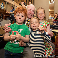 PJ Kelly with grand children Odhran Brian, and Laura