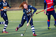 BILTHOVEN -  Hoofdklasse competitiewedstrijd dames, SCHC v hdm, seizoen 2020-2021.<br /> Foto: Tessa Beetsma (hdm)