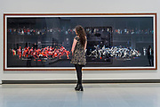 F1 Pitstop I - Andreas Gursky a new exhibiition. The Hayward Gallery reopens on the Southbank after a major refurbishment.
