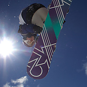 Christian Haller, Japan, in action during the Men's Half Pipe Finals in the LG Snowboard FIS World Cup, during the Winter Games at Cardrona, Wanaka, New Zealand, 28th August 2011. Photo Tim Clayton....