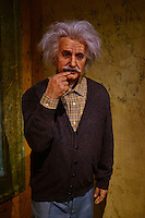 France, Paris (75), Musée Grévin, Albert Einstein // France, Paris, Grevin museum, Albert Einstein