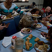 """A former casino chef, Webster, 74, found her calling when she saw a man rummaging through a garbage can in search of food. Now she runs a soup kitchen that feeds up to 400 homeless people a day, five days a week in the dinning room of the First Presbyterian Church of Atlantic City. No one is turned away. Jean has been called """"Sister Jean"""" or """"Saint Jean"""" or """"the Mother Teresa of Jersey.""""  She also offers employment counseling and a program designed for transitional housing."""