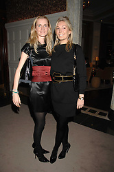 Left to right, CHLOE BUCKWORTH and OLIVIA BUCKINGHAM at a party to celebrate the launch of the Astley Clarke Fine Jewellery Collection held at The Connaught hotel, London W1 on 28th February 2008.<br /><br />NON EXCLUSIVE - WORLD RIGHTS