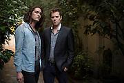 Franck, teacher, and Romain, commercial.