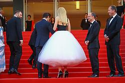 May 23, 2017 - Cannes, Provence-Alpes-Cote-D-Azur, France - Yorgos Lanthimos, Sunny Suljic, Colin Farrell et Nicole Kidman sur le tapis rouge pour la projection du film MISE A MORT DU CERF SACRE lors du soixante-dixième (70ème) Festival du Film à Cannes, Palais des Festivals et des Congres, Cannes, Sud de la France, lundi 22 mai 2017. Philippe FARJON / VISUAL Press Agency (Credit Image: © Visual via ZUMA Press)