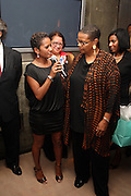 l to r: Rachel Noerdlinger and Terrie Williams at Rev. Al Sharpton's 55th Birthday Celebration and his Salute to Women on Distinction held at The Penthouse of the Soho Grand on October 6, 2009 in New York City