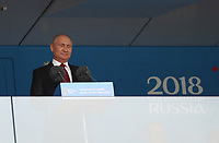 Football - 2018 FIFA World Cup - Group A: Russia vs. Saudi Arabia<br /> <br /> Vladimir Putin is seen during the opening ceremony at the Luzhniki Stadium, Moscow.<br /> <br /> COLORSPORT/IAN MACNICOL
