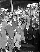 Hurling All Ireland Senior Hurling Final, Croke Park. .Cork v Galway,.6091953AISHCF, .Cork 3-3, Galway 0-8.06.09.1953, 09.06.1953, 6th September 1953
