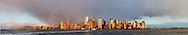Lower Manhattan Skyline from Jersey City, NJ, Manhattan, New York City, New York, USA