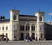 The Nobel Peace Institute in Oslo. The Nobel Peace Center was opened in 2005 and is located in a listed building close to Oslo City Hall, where the Nobel Peace Prize Award Ceremony takes place every December