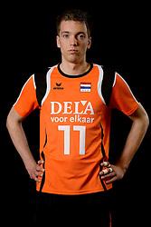 25-04-2013 VOLLEYBAL: NEDERLANDS MANNEN VOLLEYBALTEAM: ROTTERDAM<br /> Selectie Oranje mannen seizoen 2013-2014 / Sjoerd Hoogendoorn<br /> ©2013-FotoHoogendoorn.nl