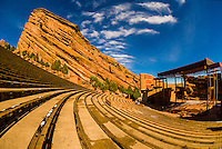Red Rocks Amphitheatre, Red Rocks Park, Morrison, Colorado USA