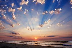 April 6, 2015 - Sunrise over the Sea of Cortez, East Cape, Baja California Sur, Mexico. (Credit Image: © Seth K Hughes/Image Source via ZUMA Press)