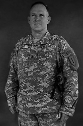 Colonel Ricky D. Gibbs, 47. Austin, TX. Commander, 4th Brigade 1st Infantry Division. Taken at Camp Liberty, Baghdad on Friday May 25, 2007.