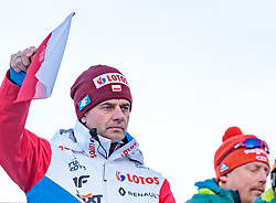01.01.2018, Olympiaschanze, Garmisch Partenkirchen, GER, FIS Weltcup Ski Sprung, Vierschanzentournee, Garmisch Partenkirchen, Wertungsdurchgang, im Bild Cheftrainer Stefan Horngacher (POL) // Austrian Headcoach Stefan Horngacher of Poland during the Competition Jump for the Four Hills Tournament of FIS Ski Jumping World Cup at the Olympiaschanze in Garmisch Partenkirchen, Germany on 2018/01/01. EXPA Pictures © 2018, PhotoCredit: EXPA/ JFK