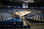 A general view of the College Park Center where the Dallas Wings hosted the Connecticut Sun during a WNBA preseason game in Arlington, Texas on May 8, 2016.  (Cooper Neill for The New York Times)