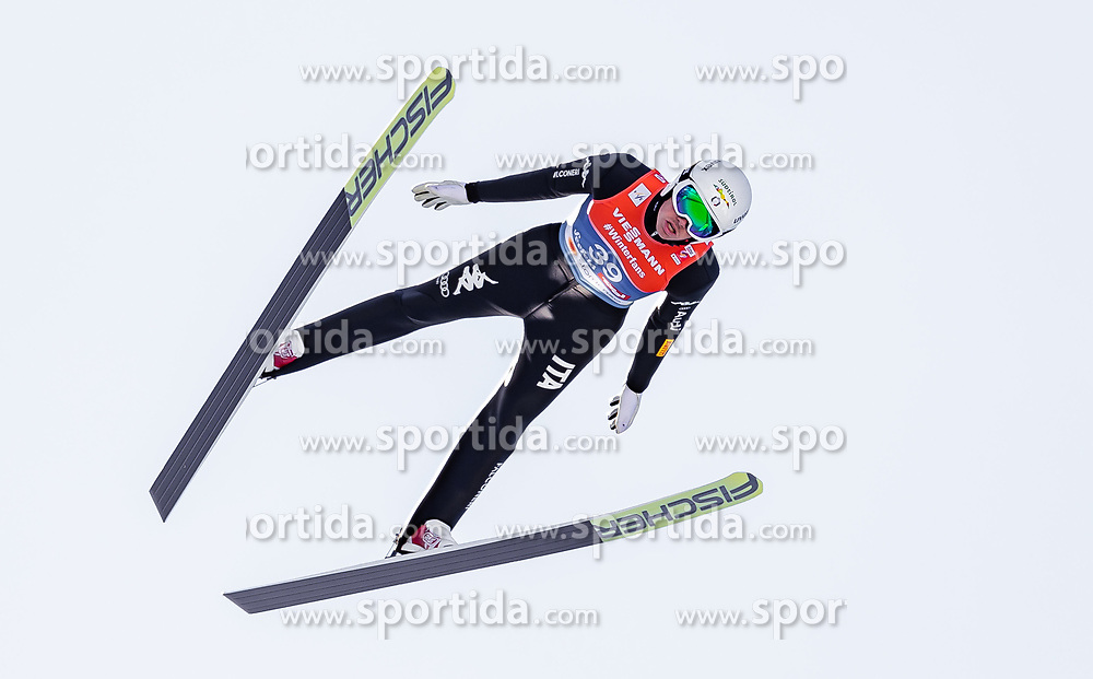 28.02.2019, Seefeld, AUT, FIS Weltmeisterschaften Ski Nordisch, Seefeld 2019, Nordische Kombination, Skisprung, im Bild Samuel Costa (ITA) // Samuel Costa of Italy during the Ski Jumping competition for Nordic Combined of FIS Nordic Ski World Championships 2019. Seefeld, Austria on 2019/02/28. EXPA Pictures © 2019, PhotoCredit: EXPA/ JFK