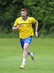 Bristol Rovers' Matt Harrold - Photo mandatory by-line: Joe Meredith/JMP - Tel: Mobile: 07966 386802 24/06/2013 - SPORT - FOOTBALL - Bristol -  Bristol Rovers - Pre Season Training - Npower League Two