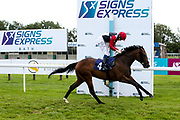 Shoot to Kill ridden by Callum Shepherd and trained by George Scott in the Sky Sports Racing Virgin 535 Handicap - Mandatory by-line: Robbie Stephenson/JMP - 18/07/2020 - HORSE RACING- Bath Racecourse - Bath, England - Bath Races 18/07/20