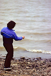 Chris Alley Skipping Rocks