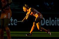 AMSTELVEEN - Avondlicht, Margot Van Geffen (Ned)  tijdens  dames wedstrijd , Nederland-Schotland (10-0),  bij het EK hockey. Euro Hockey 2021.   COPYRIGHT KOEN SUYK