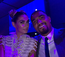 """Kevin-Prince Boateng releases a photo on Instagram with the following caption: """"Good night \ud83d\udd25\ud83d\udd25 @melissasatta #prince7"""". Photo Credit: Instagram *** No USA Distribution *** For Editorial Use Only *** Not to be Published in Books or Photo Books ***  Please note: Fees charged by the agency are for the agency's services only, and do not, nor are they intended to, convey to the user any ownership of Copyright or License in the material. The agency does not claim any ownership including but not limited to Copyright or License in the attached material. By publishing this material you expressly agree to indemnify and to hold the agency and its directors, shareholders and employees harmless from any loss, claims, damages, demands, expenses (including legal fees), or any causes of action or allegation against the agency arising out of or connected in any way with publication of the material."""