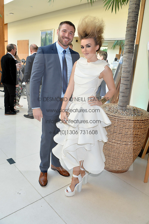 BEN COHEN and TALLIA STORM at the Ben Cohen Stand Up Foundation Gala evening at The Hurlingham Club, Ranelagh Gardens, London on 21st May 2015.