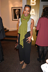 Noma Dumezweni at the Debrett's 500 Party recognising Britain's 500 most influential people, held at BAFTA, 195 Piccadilly, London England. 23 January 2017.<br /> No UK magazines - contact www.silverhubmedia.com