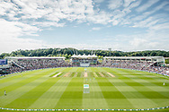 a ground shot of The Ageas Bowl during the third day of the 4th SpecSavers International Test Match 2018 match between England and India at the Ageas Bowl, Southampton, United Kingdom on 1 September 2018.