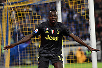 Esultanza Gol Blaise Matuidi Juventus 1-2 Goal celebration <br /> Parma 01-09-2018 Stadio Ennio Tardini Calcio Serie A 2018/2019 Parma - Juventus <br /> Foto Andrea Staccioli / Insidefoto