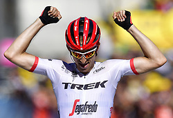 July 16, 2017 - Puy En Velay, France - Le Puy-en-Velay, France - July 16 : MOLLEMA Bauke of Trek - Segafredo during stage 15 of the 104th edition of the 2017 Tour de France cycling race, a stage of 189.5 kms between Laissac-Severac l'Eglise and Le Puy-en-Velay on July 16, 2017 in Le Puy-en-Velay, France, 16/07/2017 (Credit Image: © Panoramic via ZUMA Press)