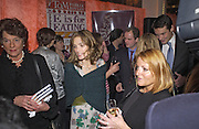 Sheherazade Goldsmith, Tom Parker Bowles, Susan Hill and Matthew Rice host party to launch 'E is For Eating' Kensington Place. 3 November 2004.  ONE TIME USE ONLY - DO NOT ARCHIVE  © Copyright Photograph by Dafydd Jones 66 Stockwell Park Rd. London SW9 0DA Tel 020 7733 0108 www.dafjones.com