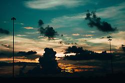 THEMENBILD - Sonnenuntergang ueber Metairie, aufgenommen am 27.08.2018, Metairie, Vereinigte Staaten von Amerika //sunset above Metairie, Metairie, United States of America on 2018/08/27. EXPA Pictures © 2018, PhotoCredit: EXPA/ Florian Schroetter