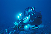 Deep Worker Submarine in the Dry Tortugas area