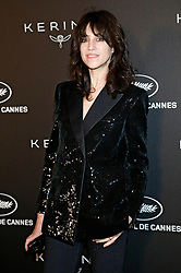 May 19, 2019 - Cannes, Alpes-Maritimes, Frankreich - Charlotte Gainsbourg at the Kering and Cannes Film Festival Official Dinner during the 72nd Cannes Film Festival at Place de la Castre on May 19, 2019 in Cannes, France (Credit Image: © Future-Image via ZUMA Press)