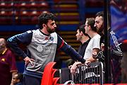 Edoardo Casalone<br /> AX Armani Exchange Olimpia Milano - Banco di Sardegna Dinamo Sassari<br /> LBA Serie A Postemobile 2018-2019 Playoff Semifinale Gara 2<br /> Milano, 31/05/2019<br /> Foto L.Canu / Ciamillo-Castoria