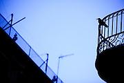 Barcelona, 11 de marco de 2010..Cotidiano da cidade de Barcelona, para a serie autoral silhuetas urbanas...Foto: Bruno Magalhaes / Nitro.