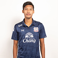 THAILAND - JUNE 07: Watsapon Jueapan #32 of Suphan Buri FC on June 07, 2019.<br /> .<br /> .<br /> .<br /> (Photo by: Naratip Golf Srisupab/SEALs Sports Images/MB Media Solutions)