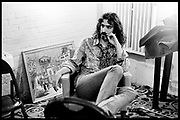 Fall River, Massachusetts - 18 February 1968. Frank Zappa of The Mothers of Invention backstage prior to a performance. © 2020 Ed Lefkowicz<br /> <br /> For licensing of any of the images in this portfolio go to https://www.mptvimages.com/<br /> <br /> For fine art prints, get in touch with me directly.