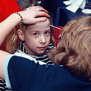 Premiere Sesamstraat Live Den Haag, Saskia Veerman make up